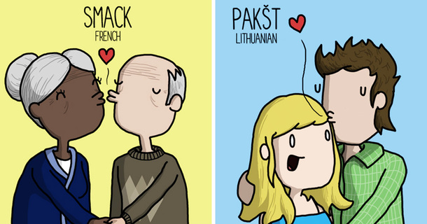 Witty Illustrations Show How People Around The World React To Certain Things